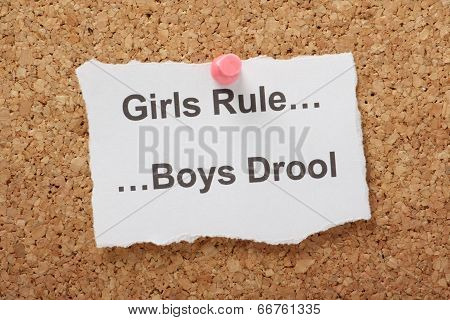 Girls Rule Boys Drool