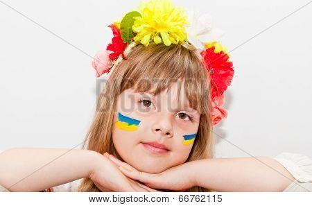 Smily ukrainian girl