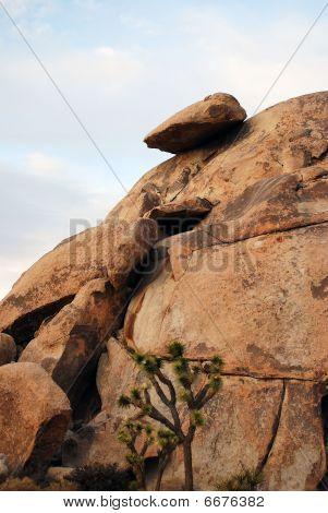 Perched Boulder