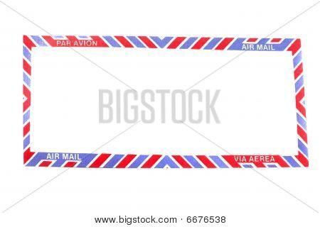 Air Mail Envelope Border
