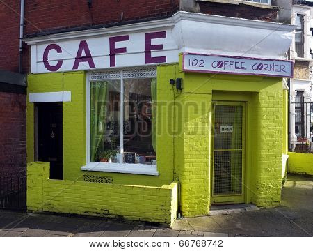 Small coffee shop