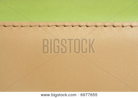 Green And Brown Leather
