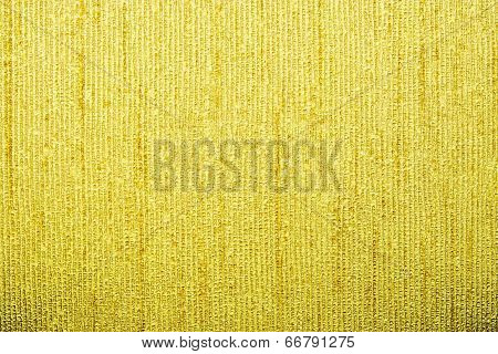 Corrugated Texture Of Yellow Color With Stamping