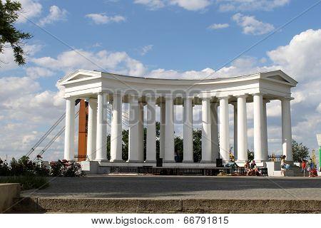 Collonade in Odessa