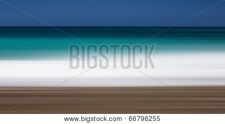 abstract summer beach colors, blurred background, art design element