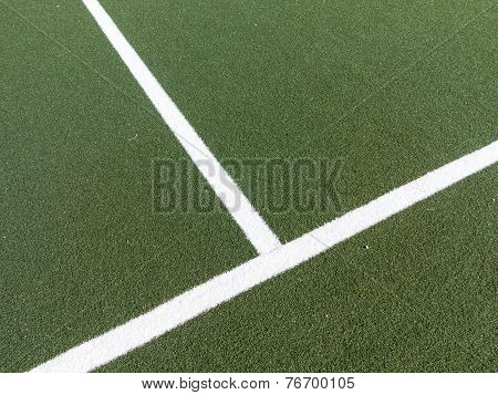 Corner On Soccer Field