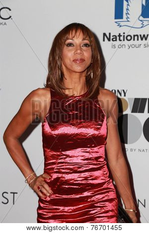 LOS ANGELES - NOV 19:  Holly Robinson Peete at the Ebony Power 100 Gala at the Avalon on November 19, 2014 in Los Angeles, CA
