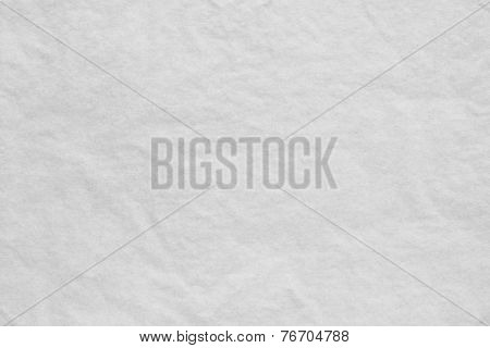 Texture Of Thin Crumpled White Paper