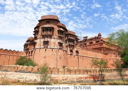 Junagarh Red Fort Bikaner Rajasthan India