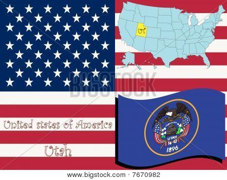 Ilustración del estado de Utah
