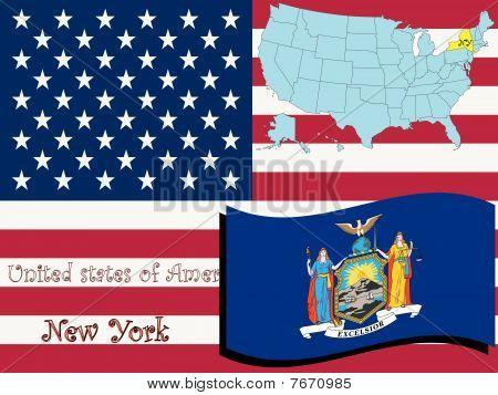 Ilustración del estado de Virginia