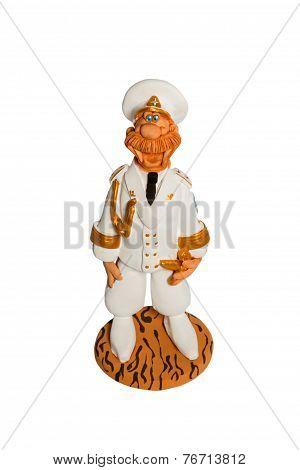 Statuette Of A Sea Captain