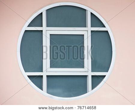 Close-up Of Window Frame Texture Background