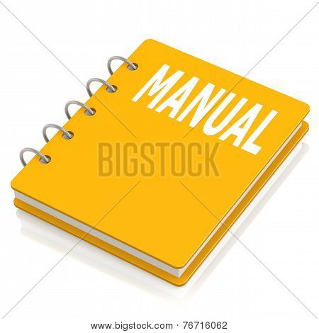 Manual Hard Cover Book