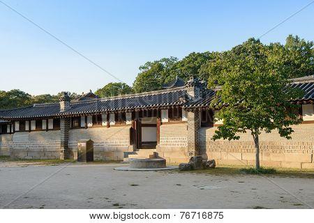 Seoul, Korea - September 20, 2014: View Of Changdeokgung