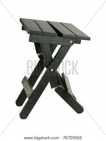 Damage Folding Chair