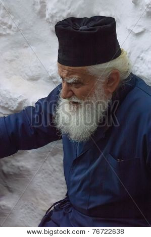 Greek Orthodox Priest Portrait