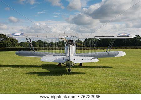 Vintage Hawker Hind Bi-plane