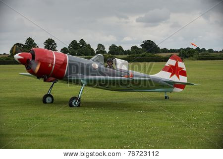 Aerostars Yak 52 Display Aircraft