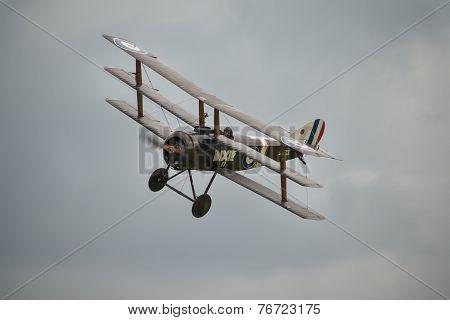 Vintage 1916 British Sopwith Triplane