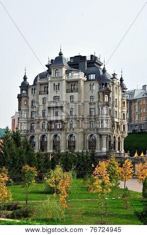 Kazan, Tatarstan, Russia - September 27: A modern residential complex