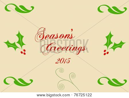 Season's Greetings Card 02