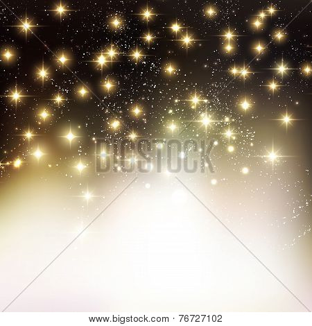 Merry Christmas Holiday background with shiny star
