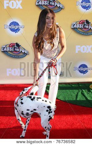 LOS ANGELES - NOV 22:  Roselyn Sanchez at the FOX's