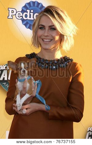 LOS ANGELES - NOV 22:  Julianne Hough at the FOX's