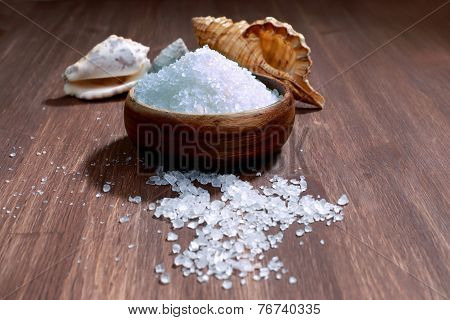 Sea Salt Crystals