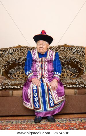 Ninety Year Old Asian Woman