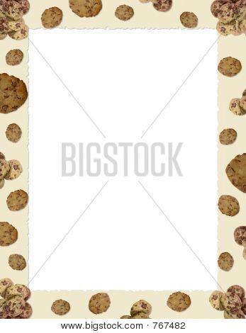 Choc Chip Cookie Border