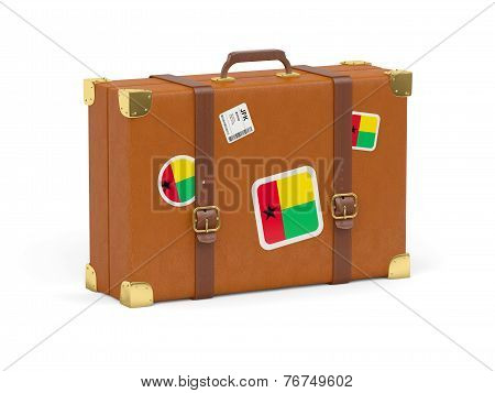 Suitcase With Flag Of Guinea Bissau