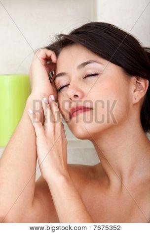 Portrait schönheit weiblich
