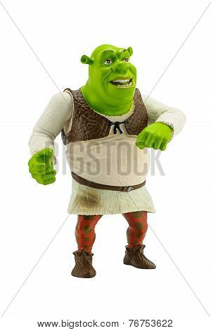 Shrek Figure Toy Character Form The Shrek.