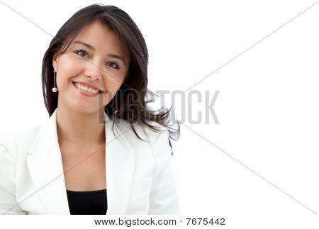 Friendly Business Woman Portrait