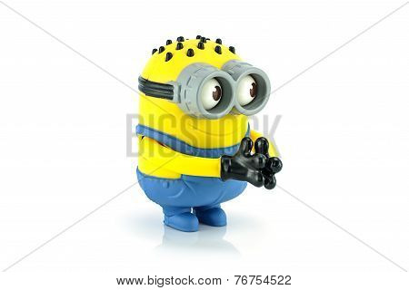Minion Tom Googly Eyes Grabber Toy Character