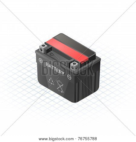 Dry Accumulator Vector Illustration