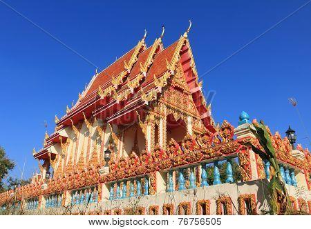Temple at Wat wihan sri Charoen