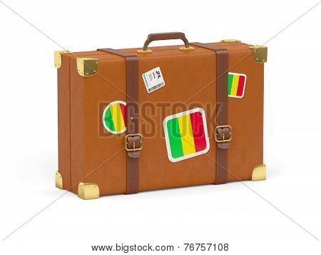 Suitcase With Flag Of Mali