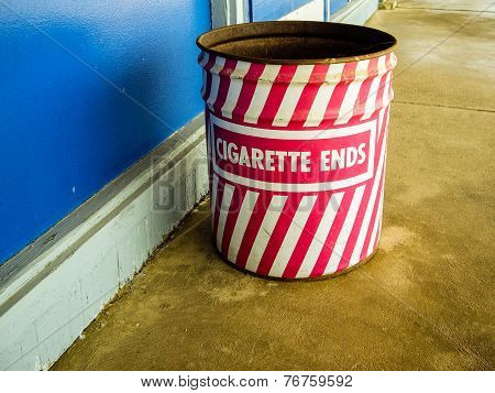 Cigarette End Can