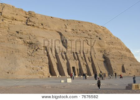 Temple Of Hathor And Nefertari, Abu Simbel, Egypt