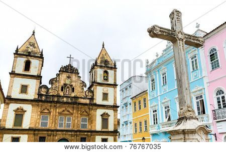 Church of St. Francis of Assis in Salvador, Bahia, Brazil