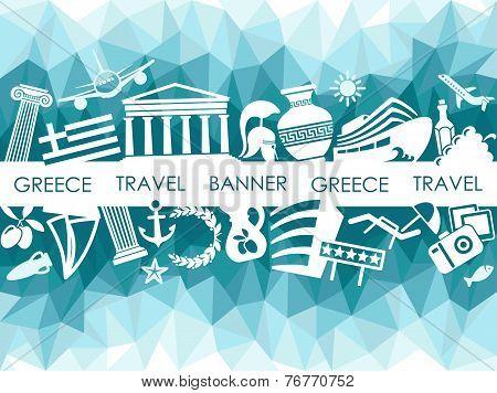 The Greek banner