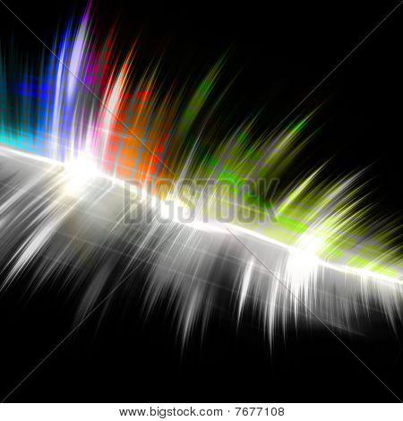 Forma de onda Musical arco-íris