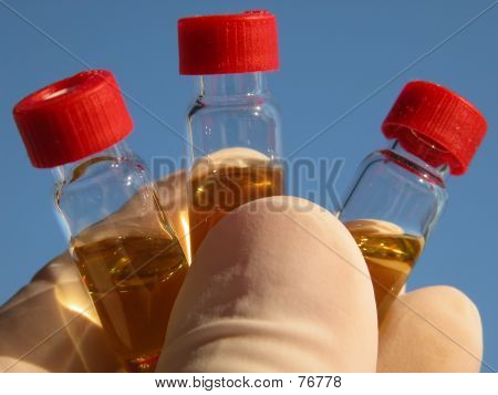 Science - 3 Vials