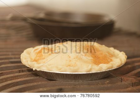 Preparing And Making Apple Pies