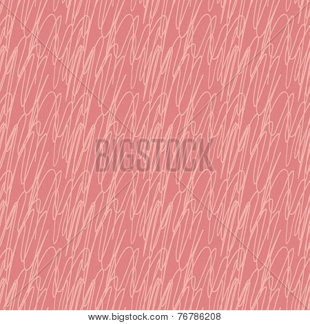 Abstract vector seamless pink zigzag pattern with abstract line element.
