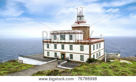 Lighthouse Of Finisterre, Galicia, Spain.