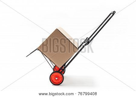 Hand Truck With Box